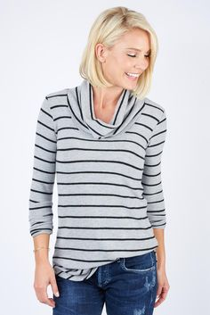 The perfect top for running errands this season! For added warmth, easily layer under our Private Practice Jacket.