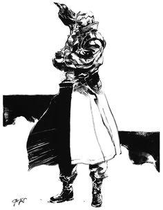 Raven Black & White, Metal Gear Solid 1