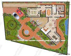 Classic House Exterior, Fantasy House, Lanterns Decor, House Plans, Floor Plans, Villas, How To Plan, Architecture, Drawings