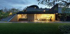 Splendide maison contemporaine semi-enterrée en Ukraine | Construire Tendance