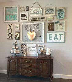 Kitchen gallery wall #SayWhatYouNeedToSay #UBHOMETEAM