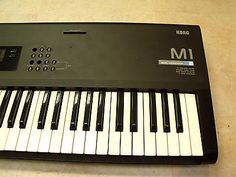 Korg M1 Workstation Synthesizer Keyboard for parts or repair **Not Working**