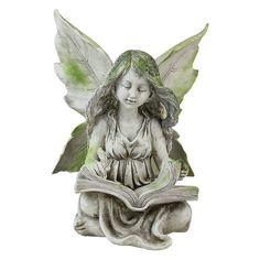 Found it at Wayfair - Reading Fairy Statue