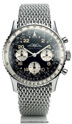 1962 Breitling Navitimer Cosmonaute (Zifferblatt etwas überfüllt, trotzdem sehr schön) | Raddest Men's Fashion Looks On The Internet: http://www.raddestlooks.org