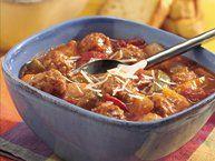 Slow Cooker Italian Meatball Soup recipe from Betty Crocker