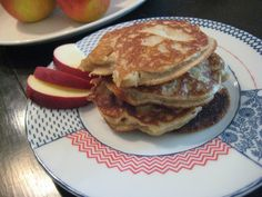 The Almond Flower: Grain Free Apple Pancakes
