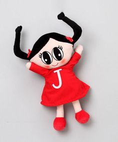 Plush Doll by The Juno Company: On sale $8.99