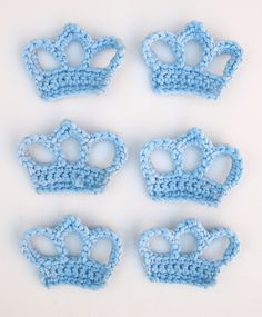 Crocheted Crowns - Tutorial ❥ 4U // hf