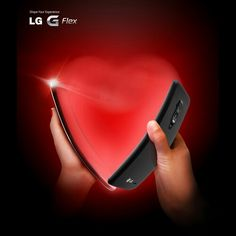 Happy Valentine's Day from LG G Flex.