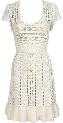 Hawaii Crochet Dress