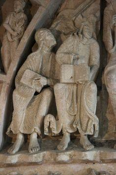 Vézelay Abbey: Central Tympanum: Apostles