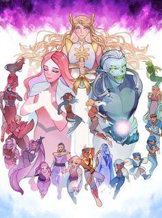 She Ra Princess Of Power, Fanart, Cartoon Shows, Anime Kawaii, Owl House, Cultura Pop, Cute Gay, Magical Girl, Dreamworks