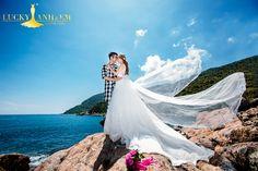 Ảnh cưới chụp tại Bãi Cát Vàng (Đà Nẵng) - Lucky Anh Và Em