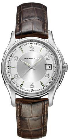 H32411555 - Authorized Hamilton watch dealer - Mens Hamilton Jazzmaster 666001e525