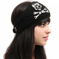 Skull Hat/headband
