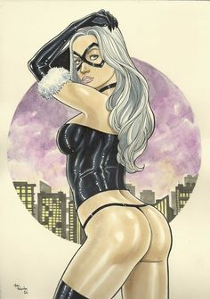 Black Cat by Marc Holanda - Ed Benes Studio