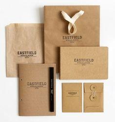 I love the brown paper used in this branding design. -marzo-fulvio (marzo-fulvio) - Minus.com