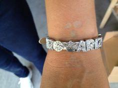Mrs. Arizona US Universal wearing her Mrs. Arizona bracelet!  Available at https://facebook.com/myblingplace