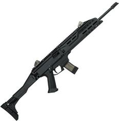"""CZ Scorpion EVO 3 S1 Carbine, 9mm with 16.2"""" barrel. Holds 20 rounds and has a collapsible and foldable stock."""
