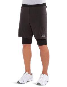 598a74de509 Gore Running Wear Mens X-Running 2.0 Shorts and Tights , Black , XXLarge #