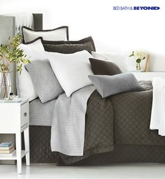 Shop Bed Bath & Beyond's exclusive Wamsutta Beekman collection, and then create a bed so comfortable you'll want to hit the snooze button forever.