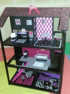 Monster High Renovated Dollhouse