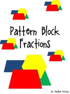 One game from the Scholastic book, \'Mega-fun Fractions\'. Use ...