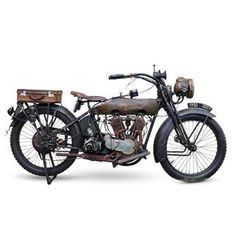 1920 HARLEY-DAVIDSON 1,000CC MODEL F Registration no. BF 7632 Frame no. 20F20885 Engine no. L20T6915 £18,000 - 20,000 US$ 23,000 - 26,000. Via Bonhams. #harleydavidson #motorcycle #vintage
