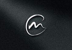 Elegant, Professional, Travel Industry Logo Design for CM by probiz Design Logo, Graphic Design Typography, Lettering Design, Diy Design, Design Art, Fancy Letter M, New Background Images, Industry Logo, Mk Logo