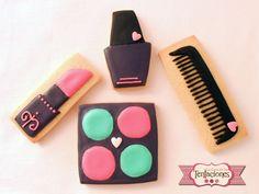 Galletas decoradas de maquillaje