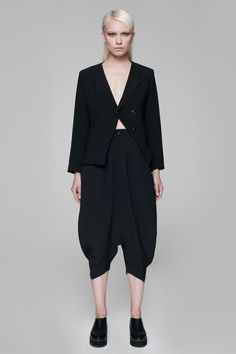 Kumagai Blazer BLACKBLESSED  BLACKBLESSED @blackblessed #black #white #fashion #minimal #basic #elegant #designer #urban #urbanchic #dresses #pants #tshirt #top #leggings #white #simple #simplicity
