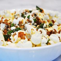 Parmesan, Oregano, and Balsamic Popcorn