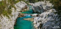 Słowenia - w Dolinie Socy – wodospad, wąwóz i szmaragdowa woda