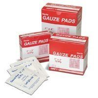 "3"" X 3"" Sterile Gauze Pads (100 Per Box) by Swift First Aid. $13.97. SH4067633 Features: -Price Is For One Box -Minimum Order Of 1.-Swift 12-ply sterile gauze pads and non-sterile gauze sponges cleanse and dress minor cuts, scrapes or burns. Sealed individually in glassine envelopes..-UNSPC CODE: 42311500.-First Aid Material Type : Sterile Gauze.-First Aid Product Type Pad.-Wound Care Wound Care first aid.-GAUZE PAD STERILE 3X3'' 100EA/BX.. Save 17% Off!"