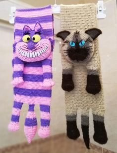 Two Crochet Cat Scarfs Sample Digital PDF - Crochet Cat Sample - Animal Scarves - Immediate Obtain - Pet scarf Crochet Baby Clothes, Crochet Baby Hats, Crochet Scarves, Crochet Beanie, Free Crochet, Crochet Outfits, Newborn Crochet, Knit Hats, Crochet Ideas