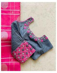 Simple Saree Blouse Designs, Kids Blouse Designs, Stylish Blouse Design, Bridal Blouse Designs, Blouse Neck Designs, Brocade Blouse Designs, Choli Designs, Mirror Work Blouse Design, Designer Blouse Patterns