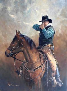 'Shooter' by Robert Hagan - Oil on Canvas by robert-hagan.deviantart.com on @deviantART