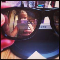 Beautiful, myself in my brothers eyeglasses<3