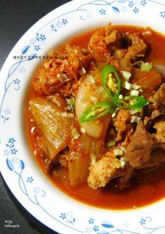[돼지고기 김치찌개]돼지고기 김치찌개 전골 – 레시피 | Daum 요리
