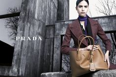 Mica Arganaraz by Steven Meisel for Prada Fall Winter 2014-2015