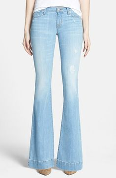 Hudson+Jeans+'Ferris'+Flared+Jeans+(Mulholland)+available+at+#Nordstrom