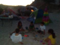 Mis nietos de campamento