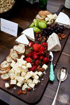 Cheese board. Very nice presentation.