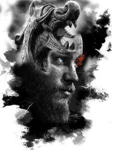 Vikings Ragnar, Vikings Time, Vikings Tatoo, Tattoo Studio, Viking Warrior Tattoos, Viking Wallpaper, Norse Tattoo, Armor Tattoo, Ship Drawing