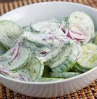 Cucumber Crunch.. I've used a very similar recipe for a side dish on my Shrinking On A Budget Meal Plan.  Very good. Ww Recipes, Diabetic Recipes, Low Carb Recipes, Salad Recipes, Healthy Recipes, Cooking Recipes, Diabetic Foods, Chicken Recipes, Gestational Diabetes Recipes