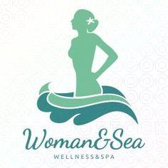 Woman and Sea logo