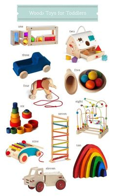 Here's why one mom stopped buying electronic toys for her kids - and a guide to the best wooden toys for toddlers! | Hellobee