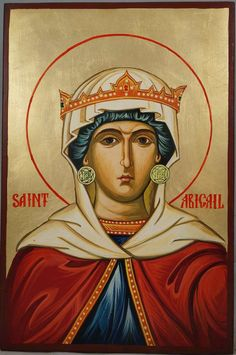 High quality hand-painted Orthodox icon of Saint Abigail. BlessedMart offers Religious icons in old Byzantine, Greek, Russian and Catholic style. Religious Icons, Religious Art, Orthodox Icons, Greek Icons, Paint Icon, Byzantine Icons, Icon Collection, Catholic Saints, My Prayer
