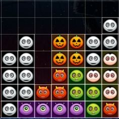 This is a #Halloween #themed block #Tetris #arcade #game where you need to control the falling blocks with the arrow keys. Try to build complete rows to destroy them.