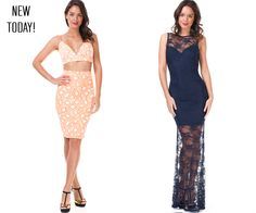 Happy #Humpday  dolls!  Check out our newest arrivals!  Shop yours ➡ www.LeVixen.com  #LeVixen #WomensFashion #Dresses #MaxiDress #Lace #OOTD #Fashion #Style #Spring Ootd Fashion, Womens Fashion, Women's Dresses, Two Piece Skirt Set, Dolls, Spring, Lace, Check, Happy
